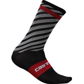 Castelli Free Kit 13 Strumpor röd/svart